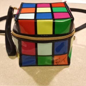 Betsey Johnson purse rubiks cube